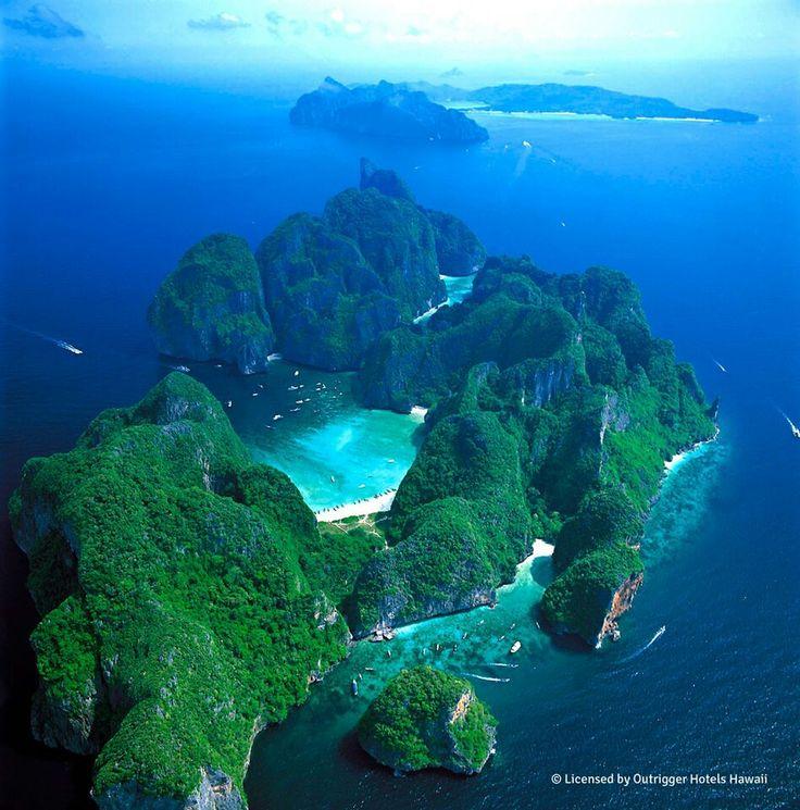 Phi Phi Beach: Maya Bay-beautiful Beach Ok Thailand
